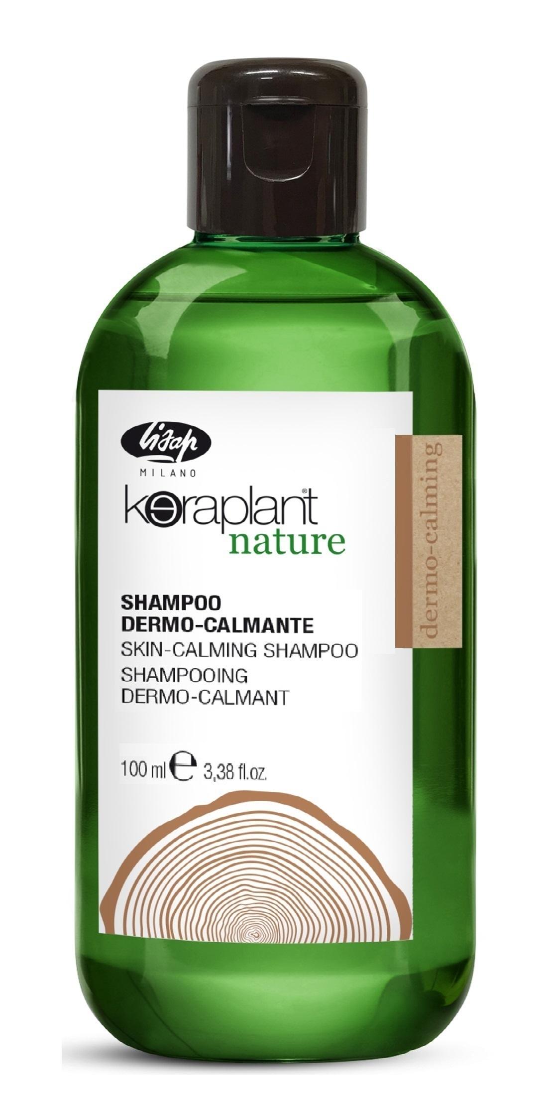 Шампунь успокаивающий для чувствительной кожи головы / Keraplant Nature Skin-Calming Shampoo 100 мл