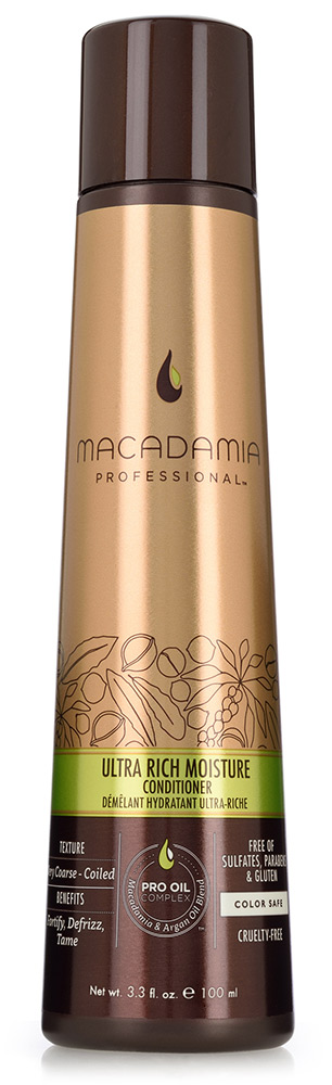 MACADAMIA PROFESSIONAL ����������� ����������� ��� ������� ����� / Ultra rich moisture conditioner 100��