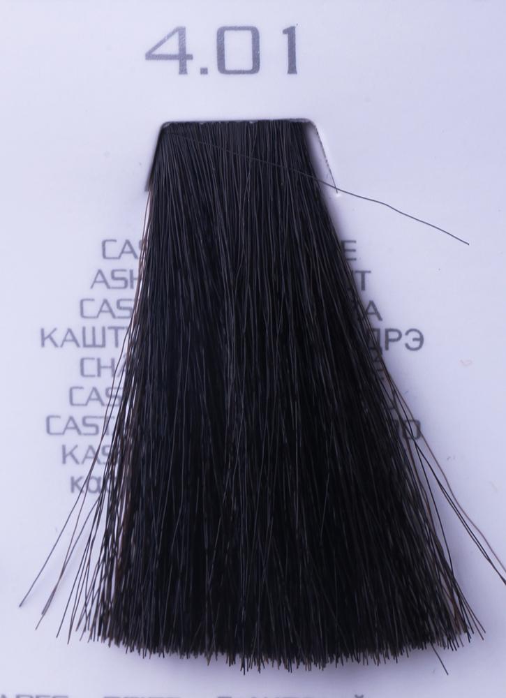 HAIR COMPANY 4.01 краска для волос / HAIR LIGHT CREMA COLORANTE 100млКраски<br>4.01 каштановый натуральный сандрэHair Light Crema Colorante   профессиональный перманентный краситель для волос, содержащий в своем составе натуральные ингредиенты и в особенности эксклюзивный мультивитаминный восстанавливающий комплекс. Минимальное количество аммиака позволяет максимально бережно относится к структуре волоса во время окрашивания. Содержит в себе растительные экстракты вытяжку из арахиса, лецитин, витамин А и Е, а так же витамин С который является природным консервантом цвета. Применение исключительно активных ингредиентов и пигментов высокого качества гарантируют получение однородного, насыщенного, интенсивного и искрящегося оттенка. Великолепно дает возможность на 100% закрасить даже стекловидную седину. Наличие 6-ти микстонов, а так же нейтрального бесцветного микстона, позволяет достигать получения цветов и оттенков. Способ применения: смешать Hair Light Crema Colorante с Hair Light Emulsione Ossidante в пропорции 1:1,5. Время воздействия 30-45 мин.<br><br>Цвет: Бежевый и коричневый<br>Вид средства для волос: Восстанавливающий<br>Класс косметики: Профессиональная