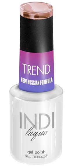 Купить RuNail 5012 гель-лак для ногтей / INDI laque Trend 9 мл, Коричневые