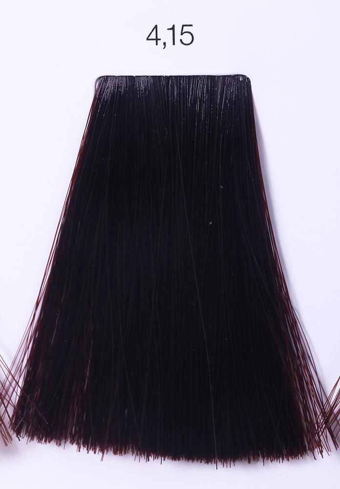 LOREAL PROFESSIONNEL 4.15 краска для волос / ИНОА ODS2 60грКраски<br>INOA - первый краситель, позволяющий достичь желаемых результатов окрашивания, окрашивать тон в тон, осветлять волосы на 3 тона, идеально закрашивает седину и при этом не повреждает структуру волос, поскольку не содержит аммиака. Получить стойкие, насыщенные цвета позволяет инновационная технология Oil Delivery System (ODS) система доставки красителя при помощи масла. Благодаря удивительному действию системы ODS при нанесении, смесь, обволакивая волос, как льющееся масло, проникает внутрь ткани волос, чтобы создать безупречный цвет. Уникальность системы ODS состоит также в ее умении обогащать структуру волоса активными защитными элементами, который предотвращает повреждения и потерю цвета.  После использования красителя окислением без аммиака Inoa 4.20 от LOreal Professionnel волосы приобретают однородный насыщенный цвет, выглядят идеально гладкими, блестящими и шелковистыми, как будто Вы сделали окрашивание и ламинирование за одну процедуру.  Способ применения: Приготовьте смесь из красителя Inoa ODS 2 и Оксидента Inoa ODS 2 в пропорции 1:1. Нанесите смесь на сухие или влажные волосы от корней к кончикам. Не добавляйте воду в смесь! Подержите краску на волосах 30 минут. Затем тщательно промойте волосы до получения чистой, неокрашенной воды.<br><br>Цвет: Пепельный<br>Типы волос: Для всех типов
