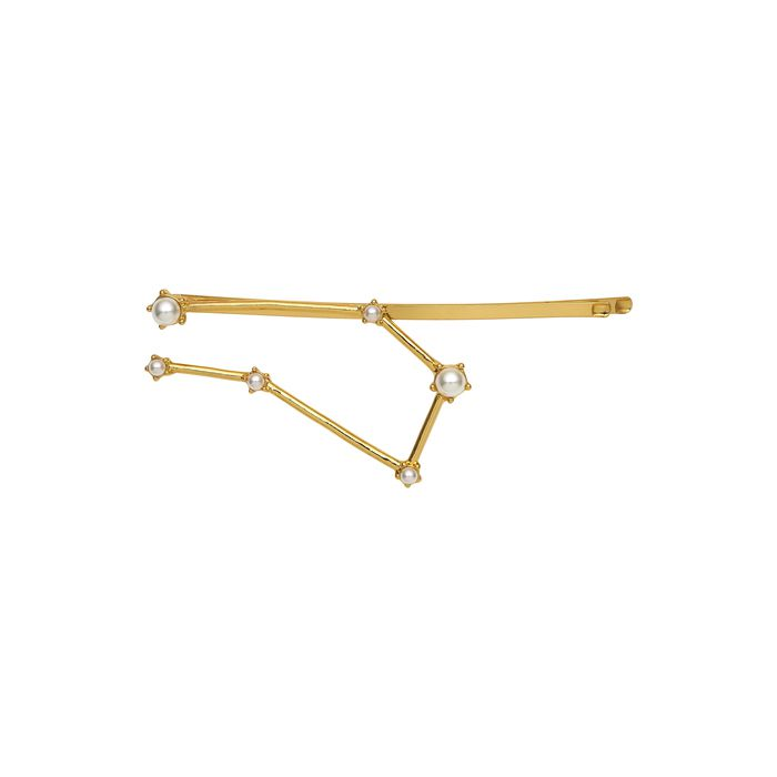 KELA Украшение для волос созвездие близнецы золото / Gemini Hair Pin Gold