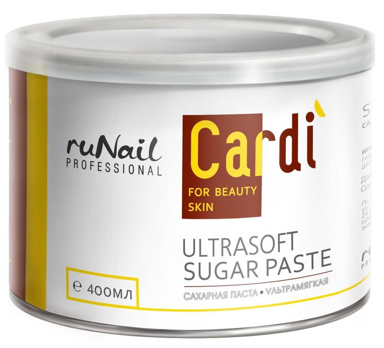 RuNail Паста сахарная ультрамягкая / Cardi 400 мл
