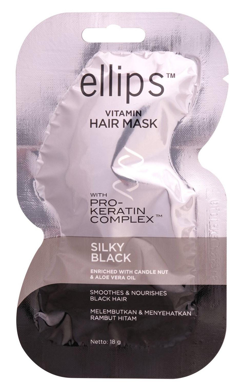 Купить ELLIPS Маска с кератиновым комплексом для темных волос / Pro-Keratin Silky Black 18 г