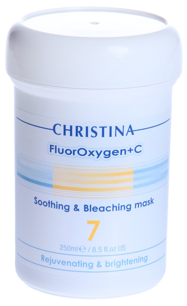 CHRISTINA Маска успокаивающая с осветляющим эффектом (шаг 7) / Soothing and Bleaching Mask FLUOROXYGEN+C 250мл