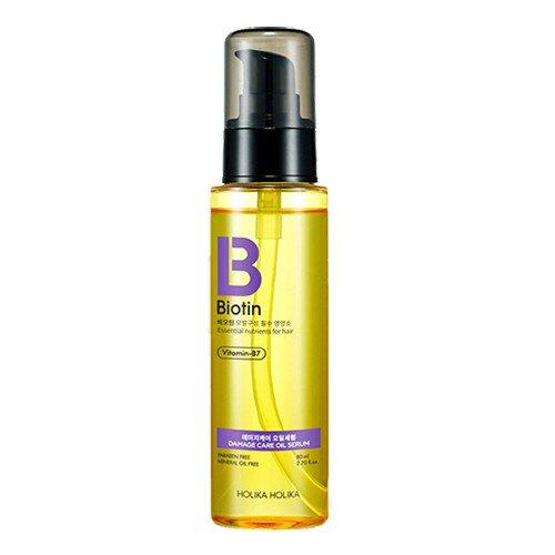 HOLIKA HOLIKA Сыворотка масляная для волос Биотин / Biotin Damagecare Oil Serum 80мл