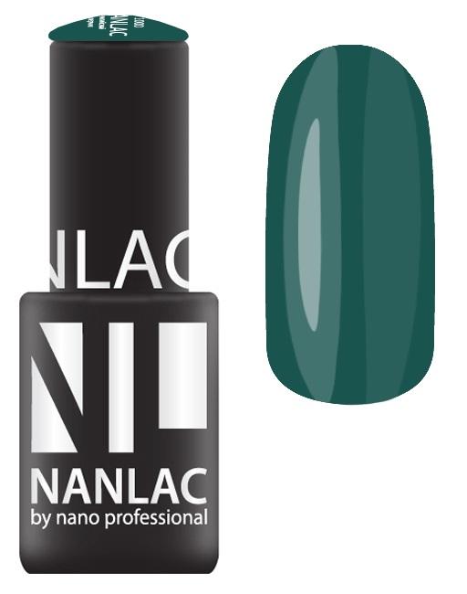NANO PROFESSIONAL 2147 гель-лак для ногтей, изумрудный бархат / NANLAC 6 мл