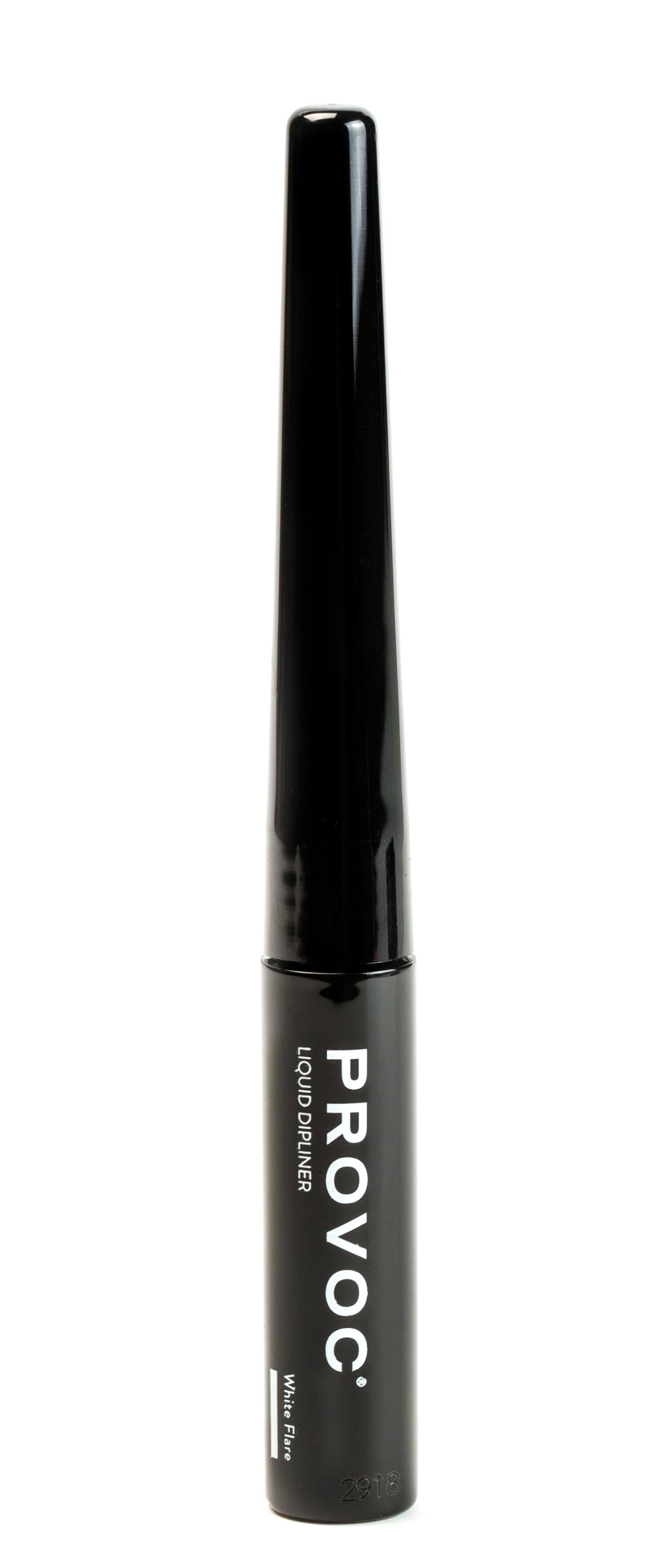 Купить PROVOC Подводка жидкая суперстойкая для глаз, белый / Liquid Dipliner White Flare 3, 3 мл