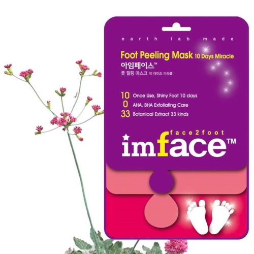 IMFACE ����� ������ ��� ��� / Foot Peeling Mask 10 Days Miracle IMFACE 40��