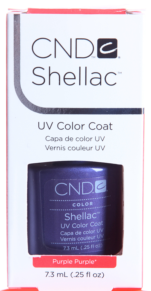 "CND 030 �������� ������� ""Purple Purple"" / SHELLAC 7,3��"