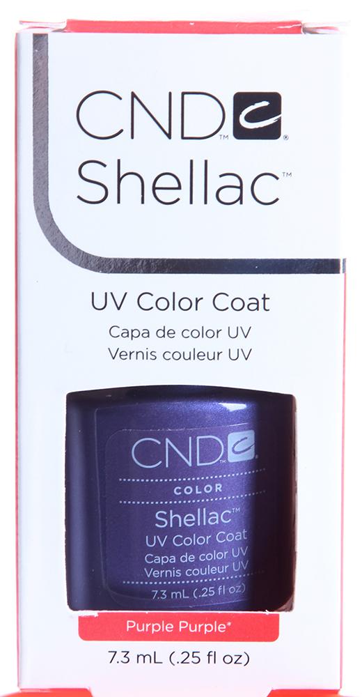 CND 030 покрытие гелевое Purple Purple / SHELLAC 7,3млГель-лаки<br>Цвет: Purple Purple Shellac &amp;ndash; первый гибрид лака и геля, сочетающий в себе самые лучшие свойства профессиональных лаков для ногтей (простота наложения, яркий блеск, богатство цвета) и современных моделирующих гелей (отсутствие запаха, носибельность, нестираемость). Носится как гель, выглядит как лак, снимается за считанные минуты, укрепляет и защищает ногти, гипоаллергенный, создан по формуле 3 FREE, не содержит дибутилфталата, толуола, формальдегида и его смол   все это Shellac! Преимущества: 14 дней   время носки маникюра 2 минуты   время высыхания покрытия Зеркальный блеск и идеальная гладкость маникюра Не скалывается, не смазывается, не трескается Каждое покрытие представлено в непрозрачном флаконе, цвет которого абсолютно идентичен оттенку самого продукта. Флакон не скользит в руке, что делает процедуру невероятно легкой и приятной, а удобная кисточка позволяет нанести средство идеально ровно.<br><br>Цвет: Фиолетовые<br>Виды лака: Глянцевые