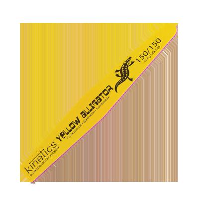 KINETICS Пилка профессиональная, высокая износостойкость 150/150 / Yellow Aligator