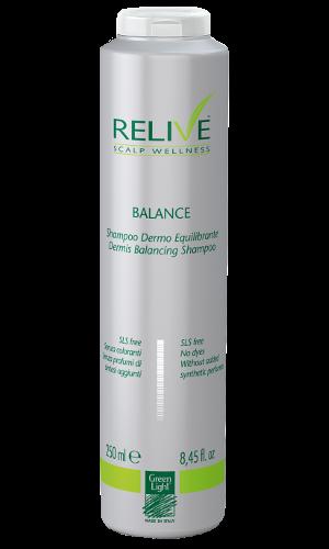 GREEN LIGHT Шампунь балансирующий для кожи головы / Relive Dermis Balancing Shampoo 250мл