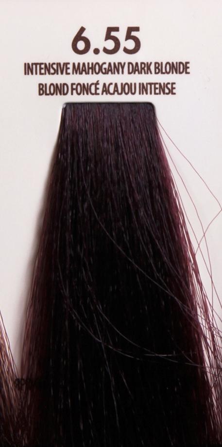 MACADAMIA Natural Oil 6.55 краска для волос / MACADAMIA COLORS 100млКраски<br>6.55 яркий красное дерево темно темный блондинПрофессиональный кремообразный краситель на основе масла макадамии сохраняет волосы здоровыми, живыми, мягкими и блестящими. Уникальная и хорошо продуманная формула красителя обеспечивает четкие, предсказуемые, последовательные и стойкие результаты. Основа красителя - масла макадамии и арганы, которые проникают в структуру волос для сохранения целостности структуры, восстановления и укрепления. Комбинация всех ингредиентов красителя создает яркие, роскошные оттенки с потрясающей стойкостью. Все цвета можно смешивать между собой, создавая бесконечное множество оттенков. С этим красителем каждый стилист может выйти за рамки повседневности, позволяя своему воображению воплощать в жизнь любые творческие идеи. Преимущества: Прост в применении Удобен в работе как для начинающего мастера, так и для опытного стилистаУникальная и хорошо продуманная формула красителя обеспечивает чёткие и предсказуемые результаты окрашиванияЭкономичен в работе Пропорция смешивания красителя с окислителем от 1 к 1.5 до 2.5 позволяют сократить расход красителя на каждого клиентаУвеличенная стойкость цвета Благодаря уменьшенному размеру, пигменты и масла способны более глубоко проникать в кортекс волоса и удерживаться там на более длительный срокВходящие в состав масла, служат проводником пигментов в кортекс волосаМногообразие оттенков Богатая палитра из 92 оттенковМножество модных и актуальных оттенков, таких как нейтрально-коричневый, бежевый, шоколадно-коричневые и т.д. Создание цвета и СПА уход в одном флаконе Результат окрашивания   стойкие, красивые и насыщенные оттенки. Уникальная комбинация пигментов и масел дополнительно увлажняет волосы и позволяет минимизировать вред, наносимый окрашиванием. Активные ингредиенты: масло макадамии, масло арганы.<br><br>Цвет: Красный и фиолетовый