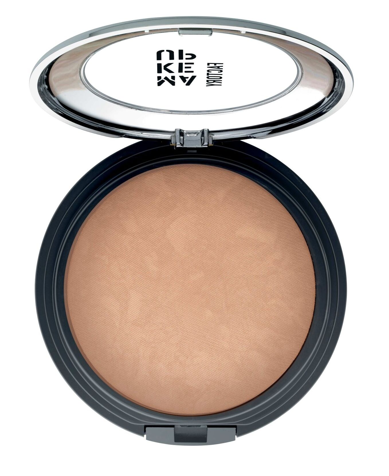 MAKE UP FACTORY Пудра запеченная бронзирующая с эффектом сияния, 10 песчаная дюна / Touch of Tan Bronzer 9,5 г фото