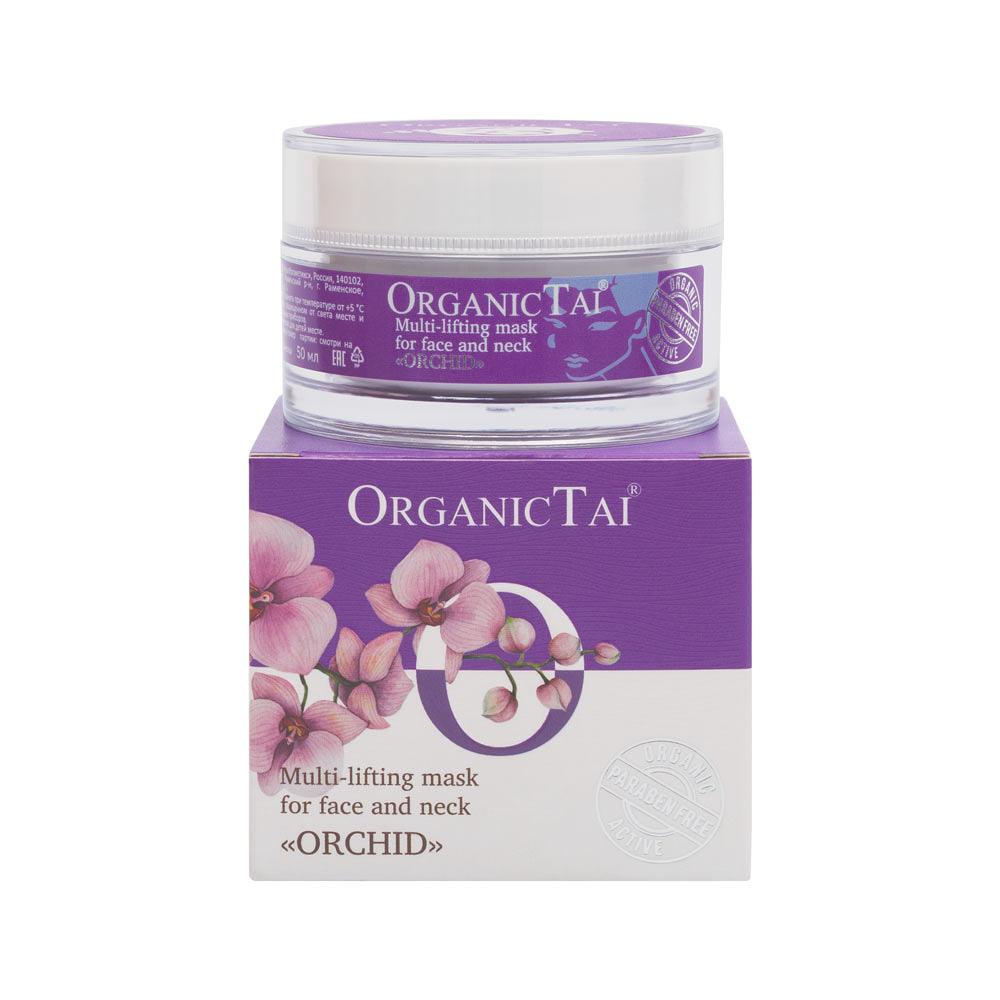 Купить ORGANIC TAI Маска мульти-лифтинг эффект для лица и шеи, Орхидея 50 мл
