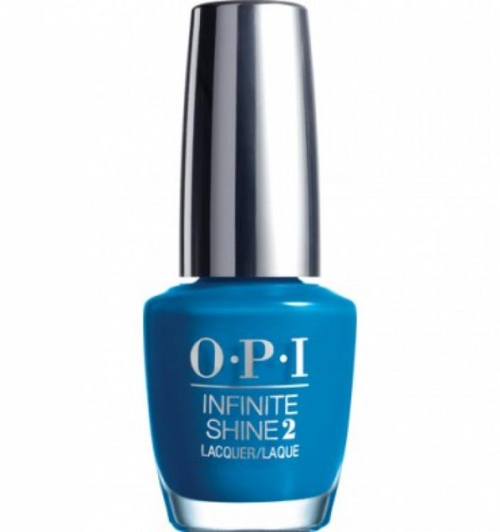 OPI Лак для ногтей Wild Blue Yonder / Infinite Shine Nail Lacquer 15млЛаки<br>Новый лак для ногтей Инфинити шайн дает насыщенный цвет и глянцевый блеск, к тому же легко удаляется обычным средством для снятия лака. OPI выпускает новую трехступенчатую систему лаков для ногтей с гелевым эффектом Infinite Shine Gel Effects Lacquer System, благодаря которой маникюр сохранит свою стойкость до 10 дней без необходимости использования лампы. Способ применения: маникюр делается с помощью трехступенчатой системы: сначала наносится базовое покрытие Infinite Shine Primer (шаг 1) для предотвращения окрашивания ногтевой пластины и для продления стойкости маникюра,&amp;nbsp; затем наносится цветной лак (шаг 2),&amp;nbsp; и в конце маникюр завершается верхним покрытием Infinite Shine Gloss (шаг 3), которое высыхает при естественном освещении, без использования специальной лампы.&amp;nbsp; Такой маникюр можно легко удалить с помощью средства для снятия лака.<br><br>Цвет: Синие<br>Объем: 15 мл
