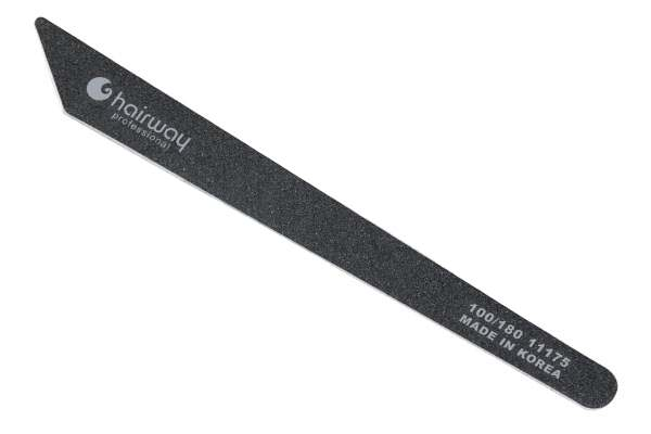 Купить HAIRWAY Пилка contour черная 100/180
