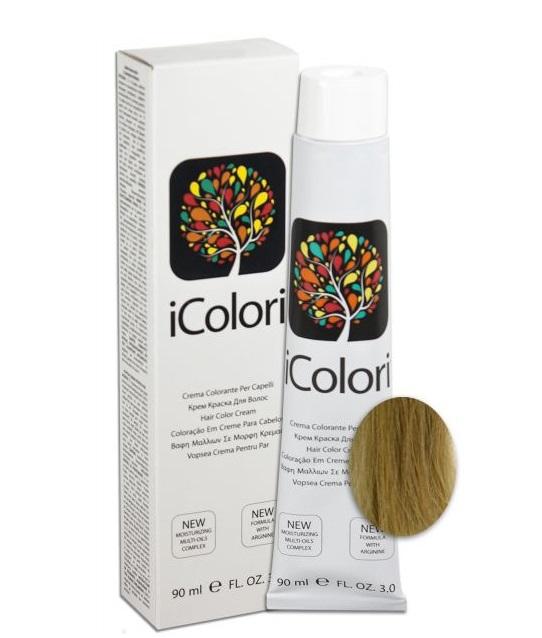 KAYPRO 11.1 краска для волос, супер-платиновый пепельный блондин / ICOLORI 90 мл