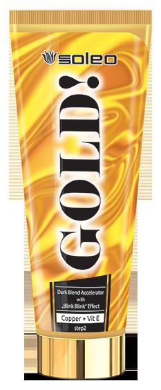 SOLEO Ускоритель загара интенсивный с золотыми частицами / Gold 200 мл soleo супер интенсивный ускоритель загара с бронзатором total bronzer супер интенсивный ускоритель загара с бронзатором total bronzer 15 мл