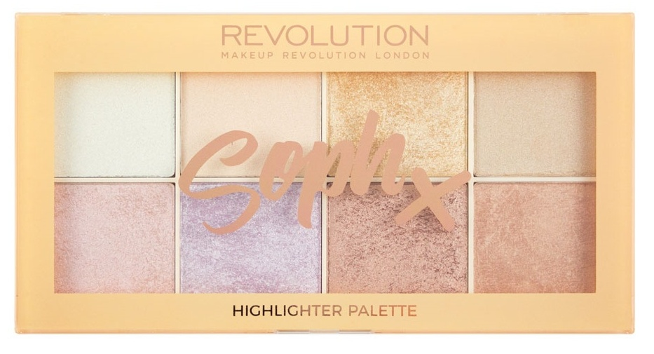 MAKEUP REVOLUTION Хайлайтер для лица / Soph Highlighter Palette