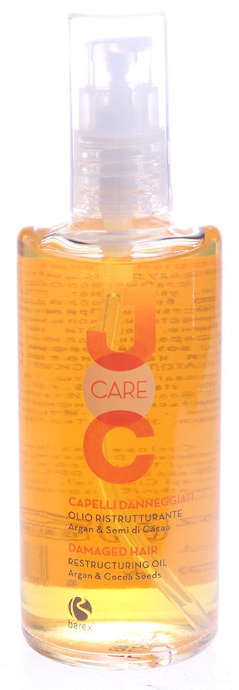BAREX Масло с аргановым маслом и какао бобами Глубокое восстановление / JOC CARE 100 мл