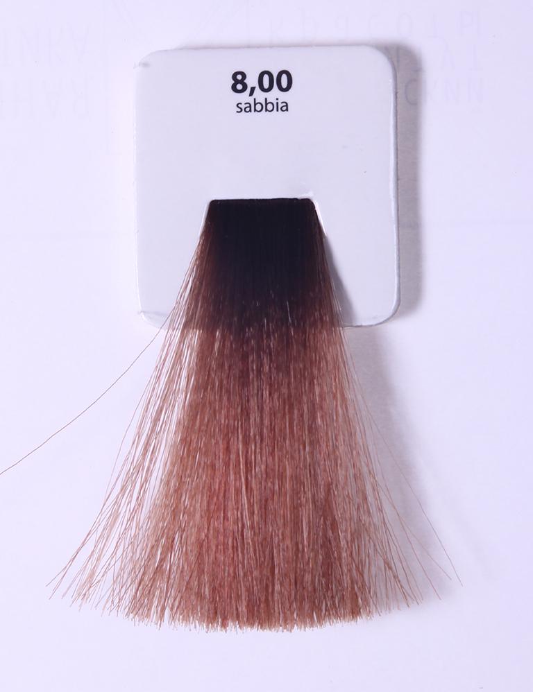 KAARAL 8.00 краска для волос / Sense COLOURS 60мл~Краски<br>8.00 светлый интенсивный блондин (песок) Перманентные красители. Классический перманентный краситель бизнес класса. Обладает высокой покрывающей способностью. Содержит алоэ вера, оказывающее мощное увлажняющее действие, кокосовое масло для дополнительной защиты волос и кожи головы от агрессивного воздействия химических агентов красителя и провитамин В5 для поддержания внутренней структуры волоса. При соблюдении правильной технологии окрашивания гарантировано 100% окрашивание седых волос. Палитра включает 93 классических оттенка. Способ применения: Приготовление: смешивается с окислителем OXI Plus 6, 10, 20, 30 или 40 Vol в пропорции 1:1 (60 г красителя + 60 г окислителя). Суперосветляющие оттенки смешиваются с окислителями OXI Plus 40 Vol в пропорции 1:2. Для тонирования волос краситель используется с окислителем OXI Plus 6Vol в различных пропорциях в зависимости от желаемого результата. Нанесение: провести тест на чувствительность. Для предотвращения окрашивания кожи при работе с темными оттенками перед нанесением красителя обработать краевую линию роста волос защитным кремом Вaco. ПЕРВИЧНОЕ ОКРАШИВАНИЕ Нанести краситель сначала по длине волос и на кончики, отступив 1-2 см от прикорневой части волос, затем нанести состав на прикорневую часть. ВТОРИЧНОЕ ОКРАШИВАНИЕ Нанести состав сначала на прикорневую часть волос. Затем для обновления цвета ранее окрашенных волос нанести безаммиачный краситель Easy Soft. Время выдержки: 35 минут. Корректоры Sense. Используются для коррекции цвета, усиления яркости оттенков, создания новых цветовых нюансов, а также для нейтрализации нежелательных оттенков по законам хроматического круга. Содержат аммиак и могут использоваться самостоятельно. Оттенки: T-AG - серебристо-серый, T-M - фиолетовый, T-B - синий, T-RO - красный, T-D - золотистый, 0.00 - нейтральный. Способ применения: для усиления или коррекции цвета волос от 2 до 6 уровней цвета корректоры добавляются в краситель 