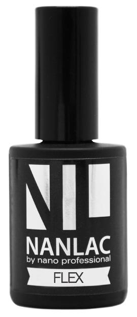 NANO PROFESSIONAL Гель-лак защитный для ногтей / NANLAC Flex 15 мл