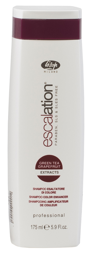 LISAP MILANO Шампунь для окрашенных волос с ICC Complex и маслом макадамии / Escalation Color Enhancer 175мл