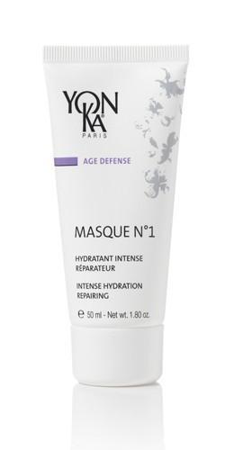 YON KA Маска увлажняющая Masque  1 / AGE DEFENSE 50млМаски<br>Это удивительная маска с легкими нотками цветочного аромата обеспечит качественное и длительное увлажнение Вашей кожи. Это +96% увлажненности кожи по прошествию 8-ми часов. Маска отлично возвращает коже упругость, разглаживает морщинки, помогает бороться с распространенными факторами старения. Она прекрасно справляется со свободными радикалами. Для всех типов кожи. Возрастная категория &amp;ndash; от 25 лет. Активные ингредиенты: производные кремния, эфирные масла розы, витамины А, В5, С и Е, бакопа монниера, жожоба, алоэ, императа цилиндрическая, сантал, ячмень, эфирные масла шиу и жасмина. Способ применения: с целью профилактического ухода наносят и оставляют на 20-60 минут (проводят процедуру 1-3 раза в неделю); с целью интенсивного ухода наносят равномерным тоненьким слоем, оставляют для воздействия на всю ночь.<br>