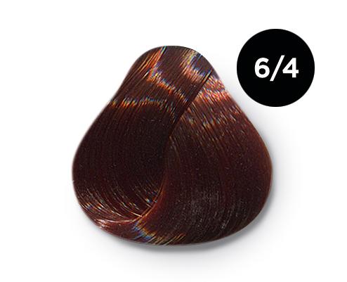 Купить OLLIN PROFESSIONAL 6/4 краска для волос, темно-русый медный / OLLIN COLOR 100 мл