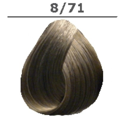LONDA PROFESSIONAL 8/71 Краска для волос LC NEW инт.тонирование светлый блонд коричнево-пепельный, 60мл