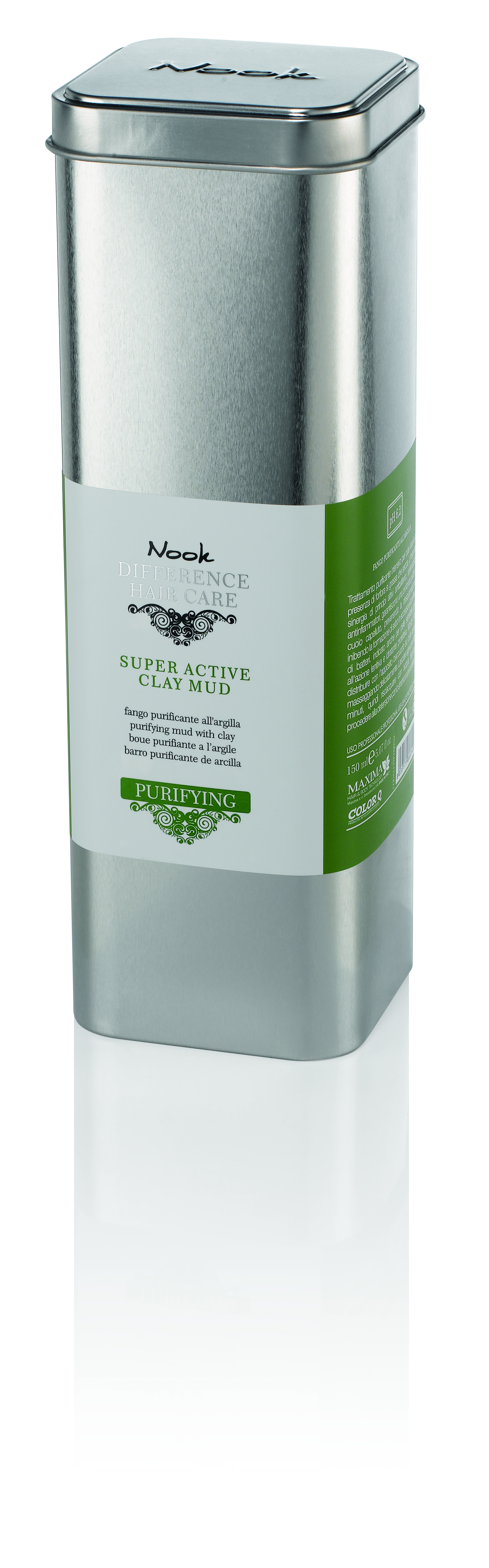 NOOK Глина супер активная очищающая для кожи головы Ph 6,2 / DIFFERENCE HAIR CARE 150мл