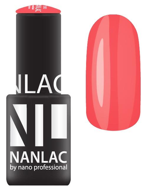 NANO PROFESSIONAL 2178 гель-лак для ногтей, бурные эмоции / NANLAC 6 мл