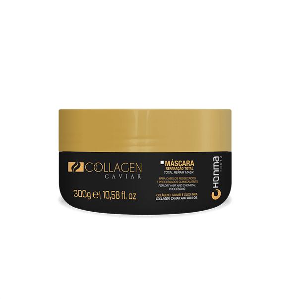 HONMA TOKYO Маска для очень сухих химически поврежденных волос / Collagen caviar 300 мл