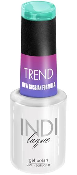 Купить RuNail 5027 гель-лак для ногтей / INDI laque Trend 9 мл, Синие