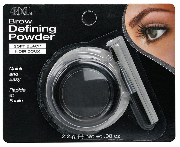 ARDELL Пудра оттеняющая для бровей, светло-черная / Brow Defining Powder Soft Black 2,2 г
