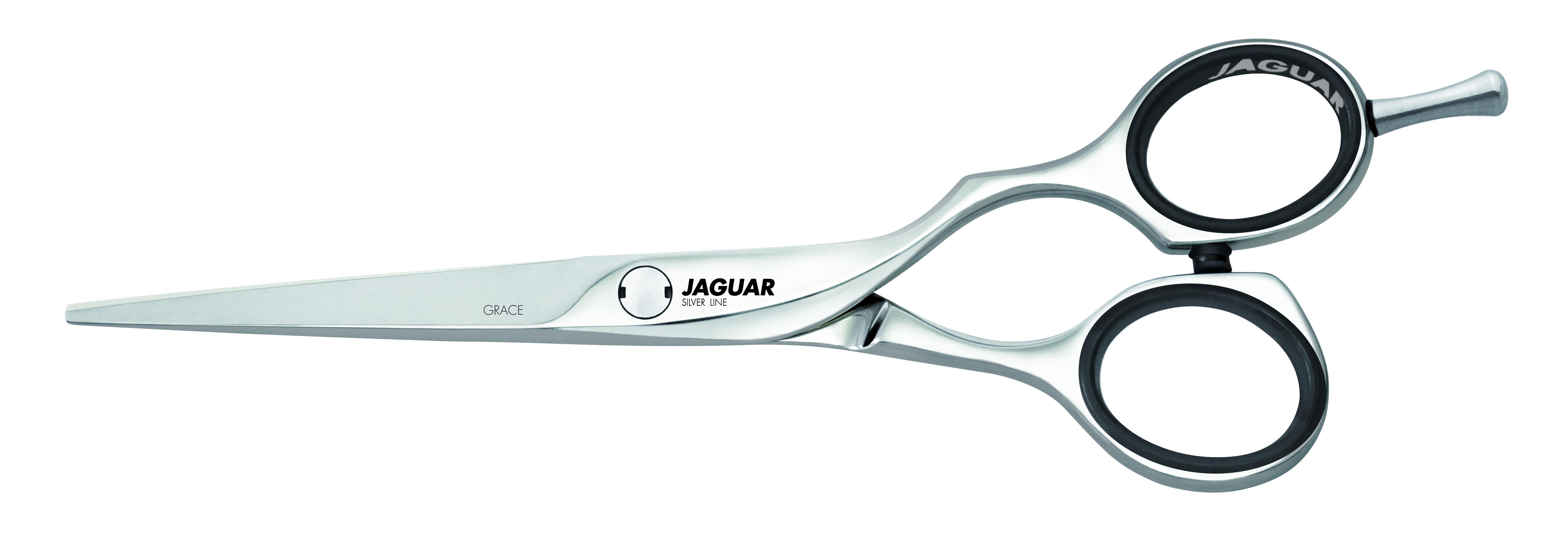 JAGUAR Ножницы GRACE 5.5 прямые Silver Line