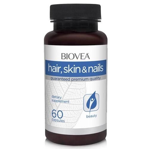BIOVEA Добавка биологически активная к пище Волосы, кожа, ногти / Hair, Skin  Nails 60 капсул