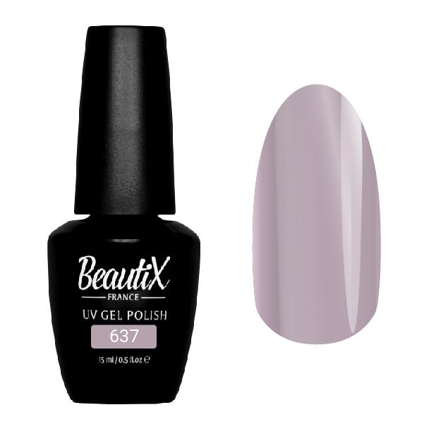 Купить BEAUTIX 637 гель-лак для ногтей 15 мл, Фиолетовые