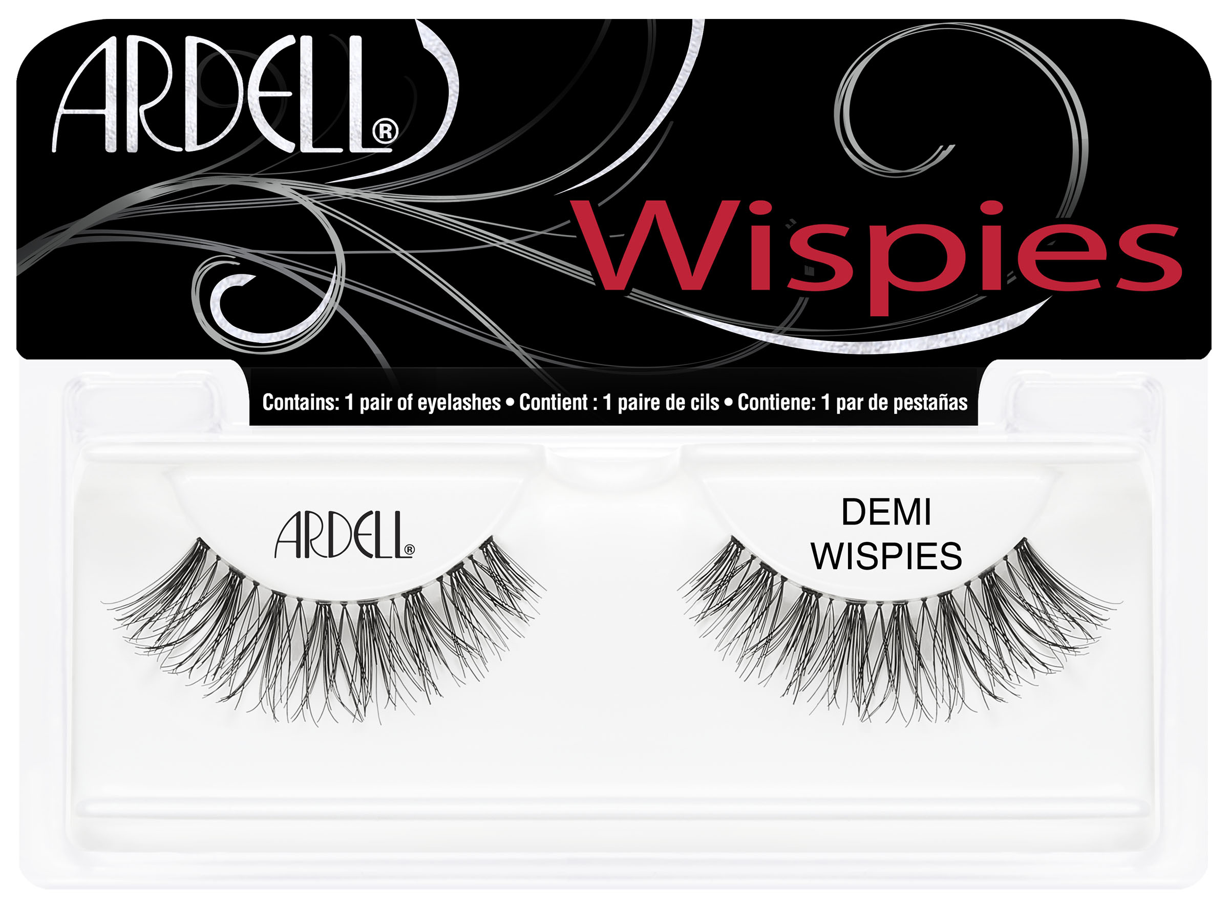 ARDELL Ресницы накладные / InvisiBand Lashes Demi Wispies (pr)