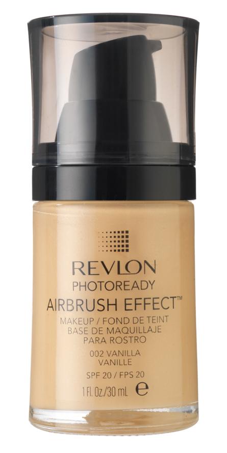 REVLON Крем тональный 002 / Photoready Airbrush Effect Makeup Vanilla - Тональные основы