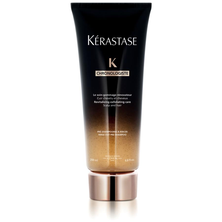 KERASTASE Гоммаж ревитализирующий / CHRONOLOGISTE 200млСкрабы<br>Ревитализирующий гоммаж для кожи головы превносит новые технологии в ритуал K rastase. Нежная текстура для очищающего массажа кожи головы. Очищая кожу головы и поверхность волоса, Ревитализирующий гоммаж увеличивает эффективность шампуня. Для волос и кожи головы. Активные ингредиенты:&amp;nbsp;ревитализирующий гоммаж - совершенный уход, в формуле которого объединены ценные активные ингредиенты в идеальной концентрации для оптимального эффекта преображения волос. Уникальная формула, обогащенная ценной молекулой Abyssine/Абиссин, которая синтезируется микроорганизмами, живущими в вулканических глубинах Тихого океана в сочетании с Глико-липидами и Бисабололом, обладает ревитализирующим эффектом.&amp;nbsp; Витамин А: сильный антиоксидант.&amp;nbsp; Олео-комплекс: Аргановое масло, Масло Камелии, Кукурузных зерен и Амлы: блеск, питание и мягкость волос.&amp;nbsp; Способ применения:наносить перед применением Шампунь-Ванны на влажные волосы, массировать 5 минут, протянуть на длину. Смыть и приступить к нанесению Шампунь-Ванны. При попадании в глаза немедленно промыть водой.<br><br>Объем: 200 мл<br>Вид средства для волос: Очищающий