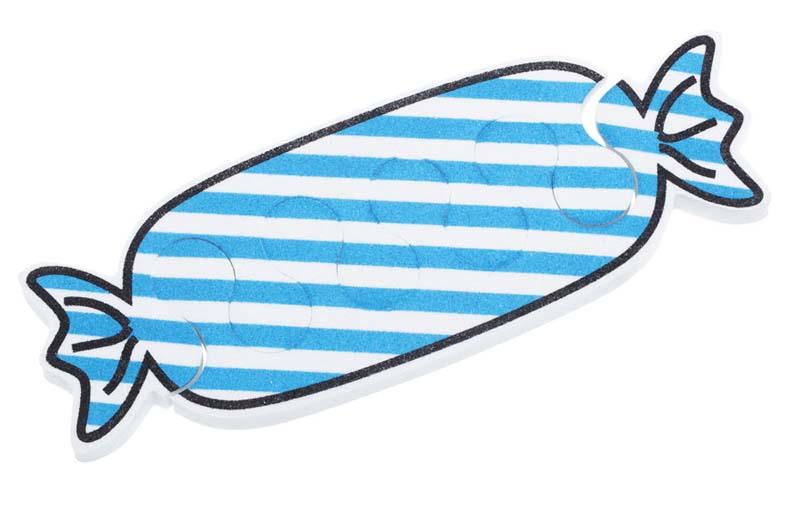 Dewal beauty разделители для пальцев, голубые 1 пара