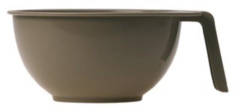 SIBEL Чаша S (10) для краски с ручкой серая