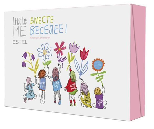ESTEL PROFESSIONAL Набор для девочек (шампунь, гель, пенка для умывания, зубная паста, бальзам) / LITTLE ME