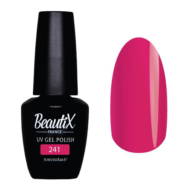 BEAUTIX 241 гель-лак для ногтей 15 мл цвет розовые