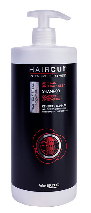 Купить BRELIL professional Шампунь против выпадения волос, на основе стволовых клеток малины и комплекса Capixyl / HairCur 1000 мл