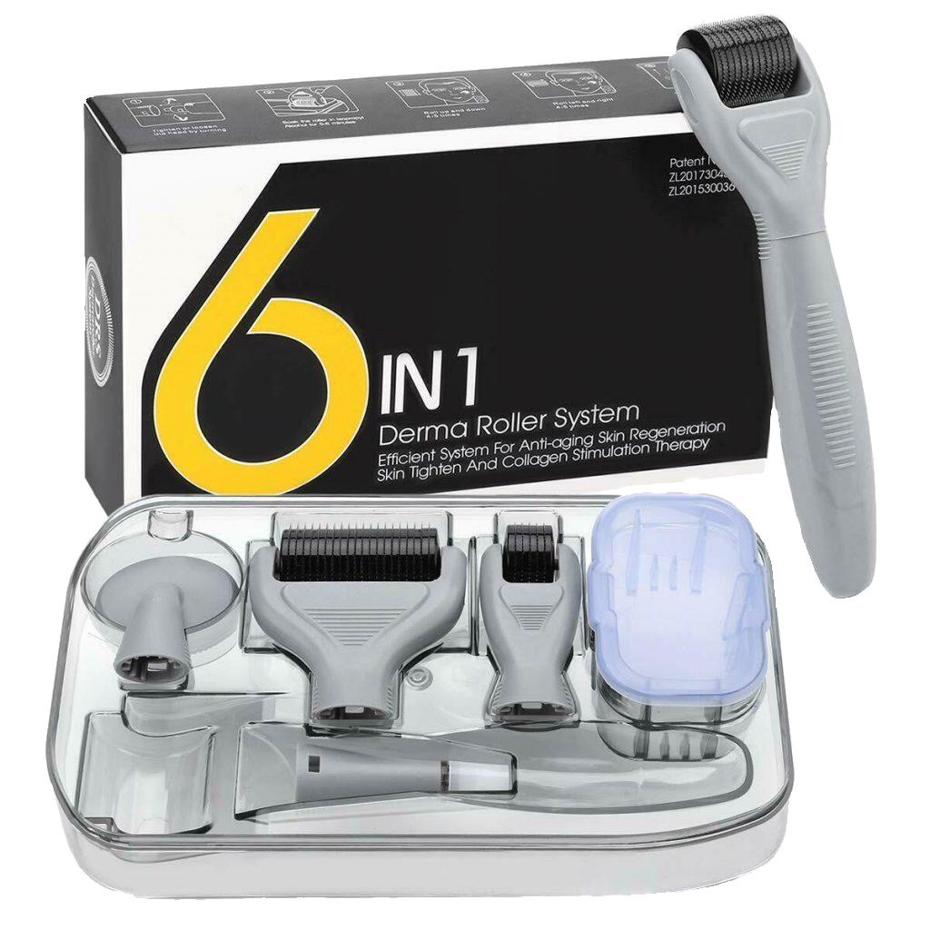 DRS Набор с мезороллером 6 в 1 / Derma Roller Kit 6 in 1