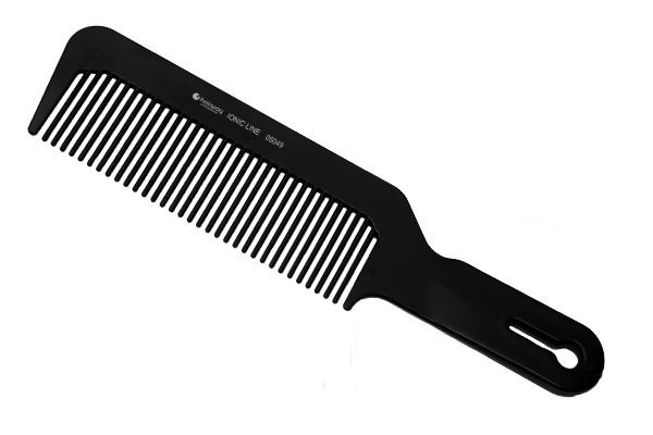 HAIRWAY Расческа для стрижки под машинку, черная / Ionic Line - Расчески